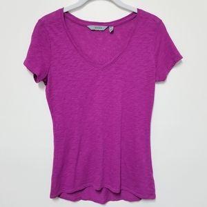 Athleta V-Neck Women's Shirt XXS